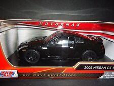 Motormax Nissan GT-R R35 Black 1/24