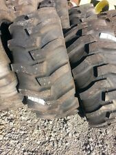 TWO New 17.5Lx24 R4 Kubota,  John Deere Farm Tractor Tires
