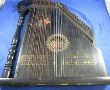Zither Deutsch-Amerikanische Harfen-Zither Columbia Zupfinstrument 30er Jahre