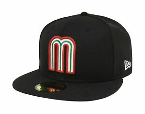 mexico new era hat WBC  59fifty Fitted Mexico League Cap - 5950 Hat