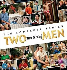 TWO AND A HALF MEN 1-12 COMPLETE DVD SEASON 1 2 3 4 5 6 7 8 9 10 11 12 ENGLISCH