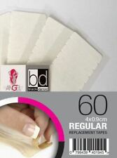 Angel Extensions Replacement Remy Human Hair Tapes Extra Strong Slimline 3x9c...