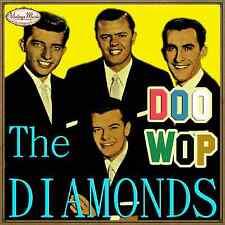 THE DIAMONDS CD Vintage Pop Rock / Doo Wop , Little Darling , The Stroll , Zip Z
