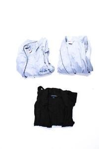 Brooks Brothers Polo Ralph Lauren Mens Robes Blue Black Size Medium L/XL Lot 3