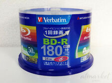 Verbatim MITSUBISHI Blank Media Bd-r 6x Speed 50 Sheets 180 Minutes