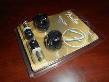 "NEW - Fender FSLB1 ""F"" Logo Strap Lock System - BLACK, 099-0818-301"