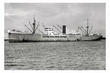 rp15600 - Port Line Cargo Ship - Port Gisborne , built 1927 - photo 6x4