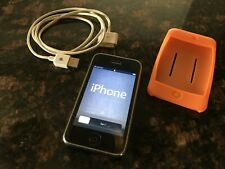 Apple iPhone 3GS - 16GB - Black (AT&T) with charging cord/case