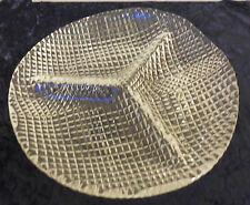 Servierteller, Servierplatte, Partyplatte aus Glas, rund,3 Einteilungen  (101)