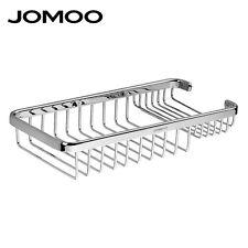JOMOO Bathroom Organizer Shower Shelf Storage Bath Wire Basket Caddy Corner Rack