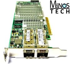 HP NC522SFP Dual Port 10GbE Adapter Card 10Gbps PCIe 468330-002 Low Bracket