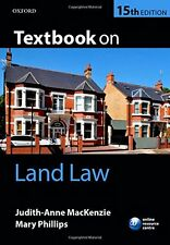 Textbook on Land Law 15/e,Judith-Anne MacKenzie, Mary Phillips