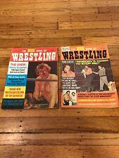 Vintage Big Book Of Wrestling September July 1972 Sheik Bloody King Curtis WWF