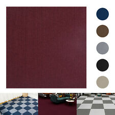 12/24/36pcs Self Adhesive Carpet Tiles Peel and Stick Floor Plank Mat Non-Slip
