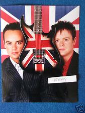 "Original Press Photo - 10""x8"" - Ant & Dec - The Brit Awards - 2001"
