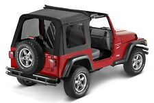 Jeep Wrangler TJ Sunrider Softtop Klappverdeck Black Diamond Bestop 03-06