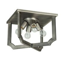Craftmade Lisbon 4 Light Flushmount, Antique Nickel - 37384-AN