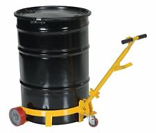 New listing Barrel Dolly On Wheels Steel Construction Heavy Duty Easy Moving Trums S