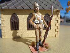 Stadden, British Infantry in Sudan 1890's, soldier 54mm lead, JL