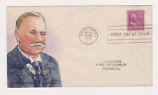 FDC SC#831 HANDPAINTED William Howard Taft Presidential Series 1938 Wash. DC