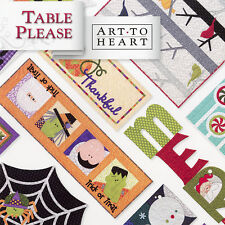 TABLE PLEASE PART TWO Quilt Applique Projects Halloween Autumn Christmas Winter