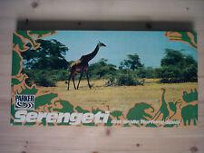 SERENGETI: Das große Tierfang-Spiel (1973 / TOP-Z) - Mit 12 Tieren und 48 Zäune!