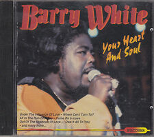 BARRY WHITE - your heart and soul CD