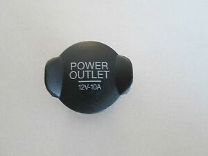 2005-2010 FORD MUSTANG POWER OUTLET COVER PLUG YS4Z15052BA