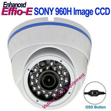 1/3 SONY 960H Effio-E 700TVL METAL WEATHERPROOF NIGHT VISION IR CCTV DOME CAMERA