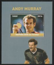 Chad 6748 - 2016  TENNIS - ANDY MURRAY perf s/sheet  unmounted mint