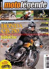 MOTO LEGENDE 207 HONDA CB 750 FOUR HUSQVARNA 240 WR RICKMAN METISSE 650