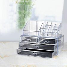 Makeup Organizer Transparent Acrylic Multifunctional Box Case Cosmetic Storage
