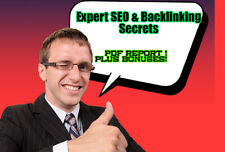 Expert SEO and Backlinking Secrets