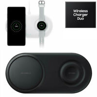 OEM Fast Charge 2.0 Qi Wireless Charger Duo Pad For Samsung Galaxy S10 S10+ Gear