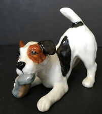 Vintage Royal Doulton Jack Russel Terrier Dog Chewing Slipper Hn 2654
