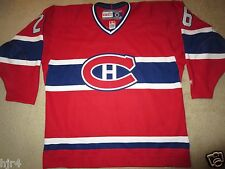 Montreal Canadians #26 NHL CCM Hockey Sewn Jersey LG L