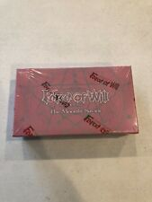 Force of Will The Moonlit Savior Factory Sealed Booster Box FOW