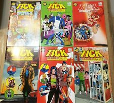 THE TICK HEROES OF THE CITY 1 2 3 4 5 6 SET OF COMICS NEC FUN RED EYE ARTHUR