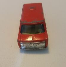 Vintage Yatming Delightful Van Red No.899 Made in Thailand HW10