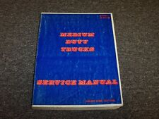 1984 GMC C50 C60 C70 P40 P60 B60 Topkick Truck Shop Service Repair Manual Book