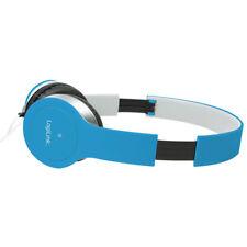 Headset Stereo Mikrofon Kopfhörer Overear PC Smartphone Computer Laptop Blau