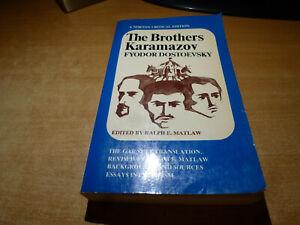 1976 Book THE BROTHERS KARAMAZOV F. DOSTOEVSKY