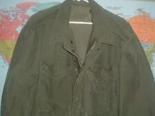 ARMY M51 FIELD JACKET SIZE LARGE IN GOOD CONDITION ORIGINAL ZIPPER, NO HOLES