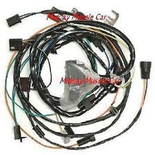 engine wiring harness 69 chevy chevelle malibu ss 396 427 1969 el camino  w/gauge