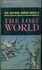 The Lost World by Sir Arthur Conan Doyle (1963) Pyramid pb