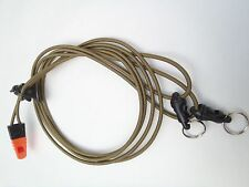Ultra Light Bino Harness with safety whistle made by Rick Young Outdoors