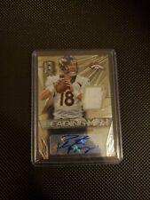 New listing 2014 Panini Spectra Peyton Manning Auto/jersey Card #2/25