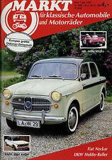 Markt 7/87 1987 BMW 2002 turbo Borgward Isabella DKW Hobby Fiat 1100 Elly Beinho