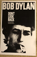 """Bob Dylan """"Don't Look Ba 00004000 ck"""" Movie Poster 11"""" x 14"""" Very Good Reproduction Piece"""