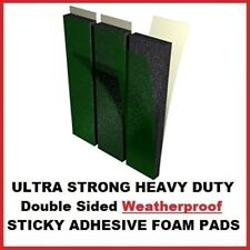 3x Number Plate Double Sided Foam Adhesive Fixing Pads Sticky Pads 6mm Oversized